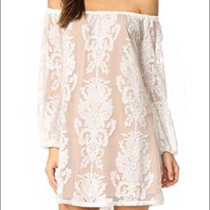 For Love and Lemons Off the Shoulder Dress